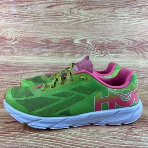 Hoka Tracer Running Trail Sneakers Neon Pink 10.5